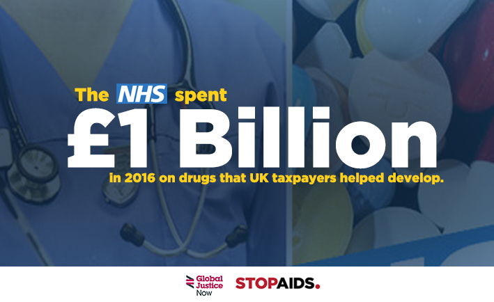 New Report: Drug companies in £1bn NHS rip-off