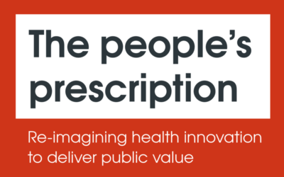The health innovation system is 'broken' and failing patients